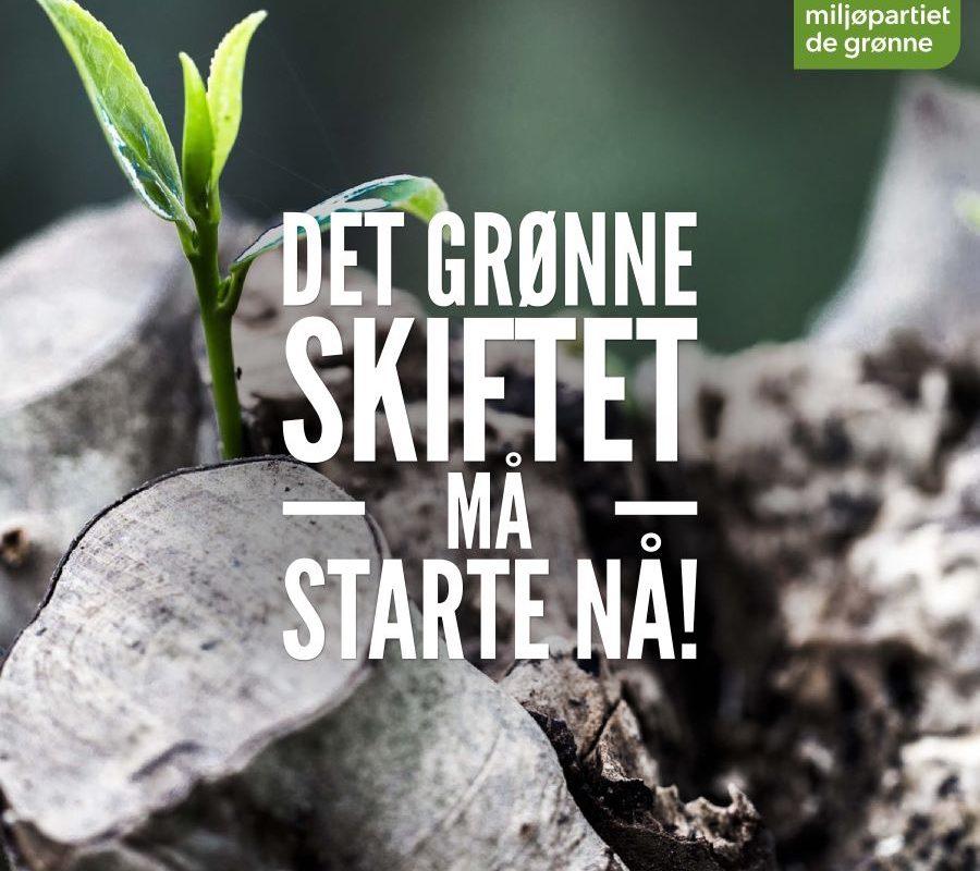 Stem Lørenskog inn i framtida: Stem grønt!