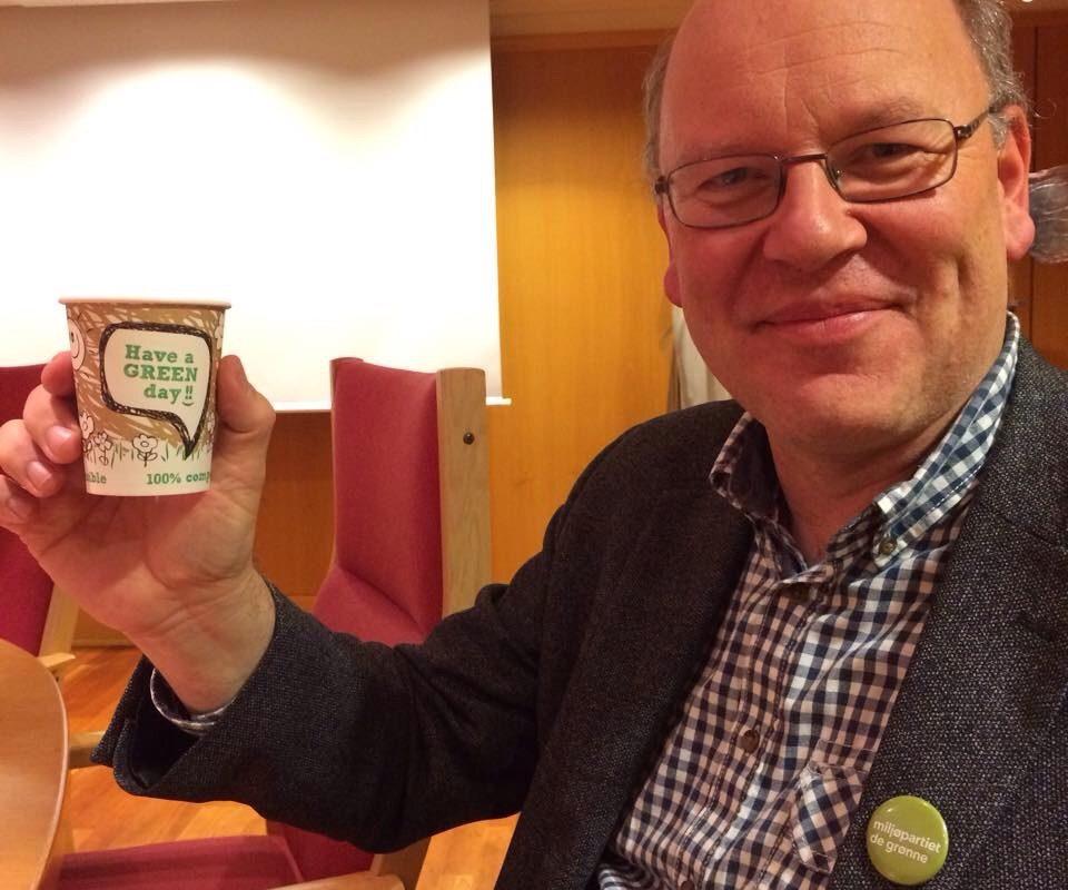 Miljøpartiet De Grønne og påtroppende varaordfører Ernst-Modest Herdieckerhoff kommer garantert til å gi Lørenskog mange grønne dager framover!
